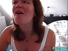 Real mom sucks sons and swallows his load - FREE Full Mom Sex Videos at FiLF.BiZ